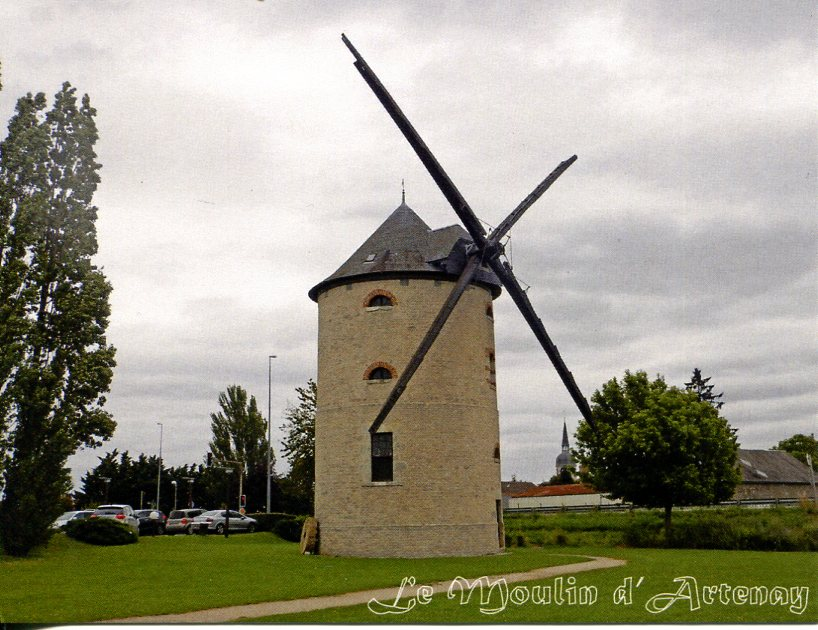 Moulin D'Artenay (Historic Stone Windmill)