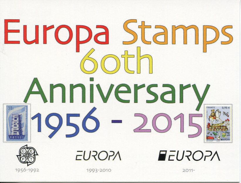 Europa Stamps 60th Anniversary (1956-2015)