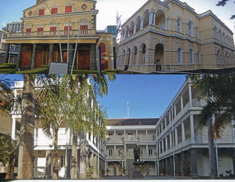 Mauritius - Historical Buildings in Port Louis