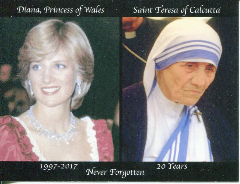 Princess Diana & Saint Teresa of Calcutta - 20th anniversary