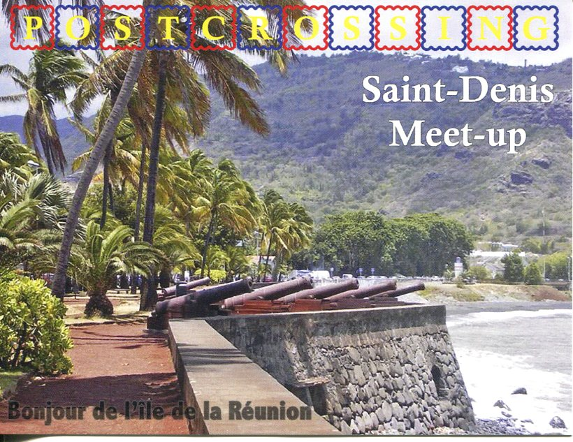 Postcrossing Meet-up (La Réunion) postcard