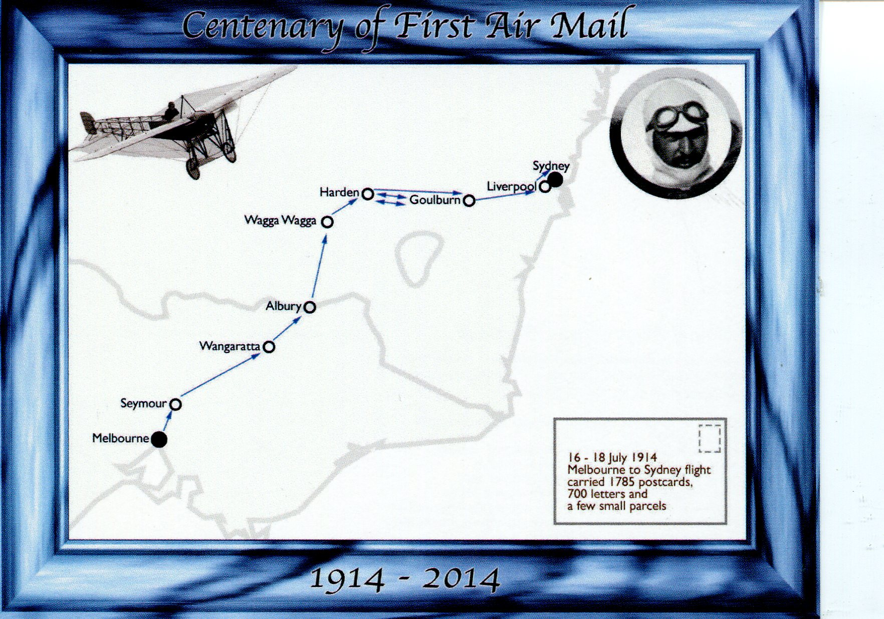 Centenary of First Air Mail (Australia)
