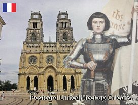 Postcard United Meet-up in Orléans - France (July 2018)