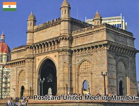 Postcard United Meet-up in Mumbai (India) (July 2018)