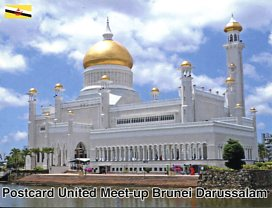 Postcard United Meet-up in Brunei Darussalam (July 2018)
