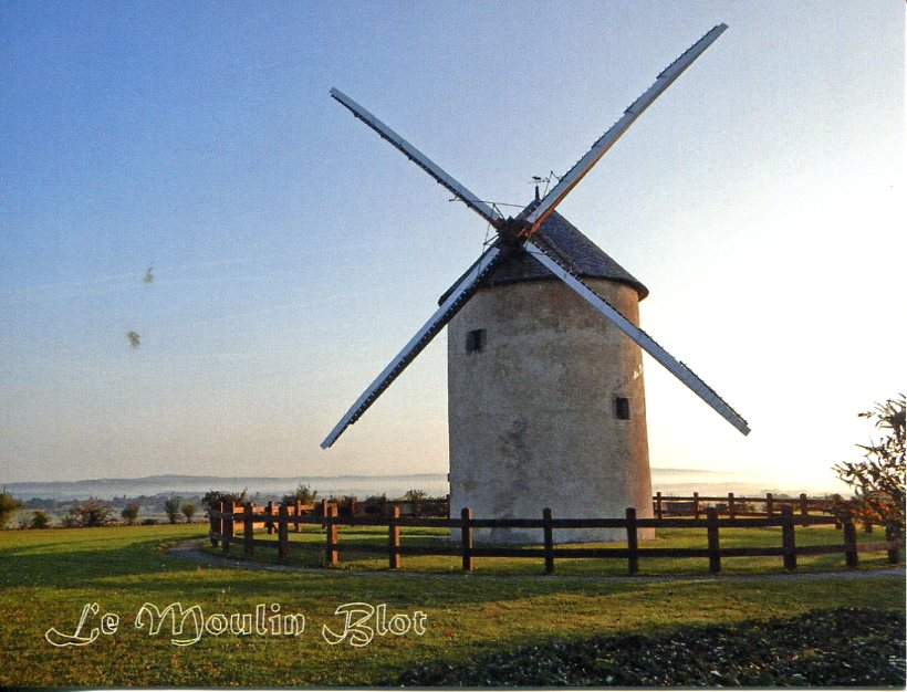 Moulin Blot (Blot Historic Windmill)