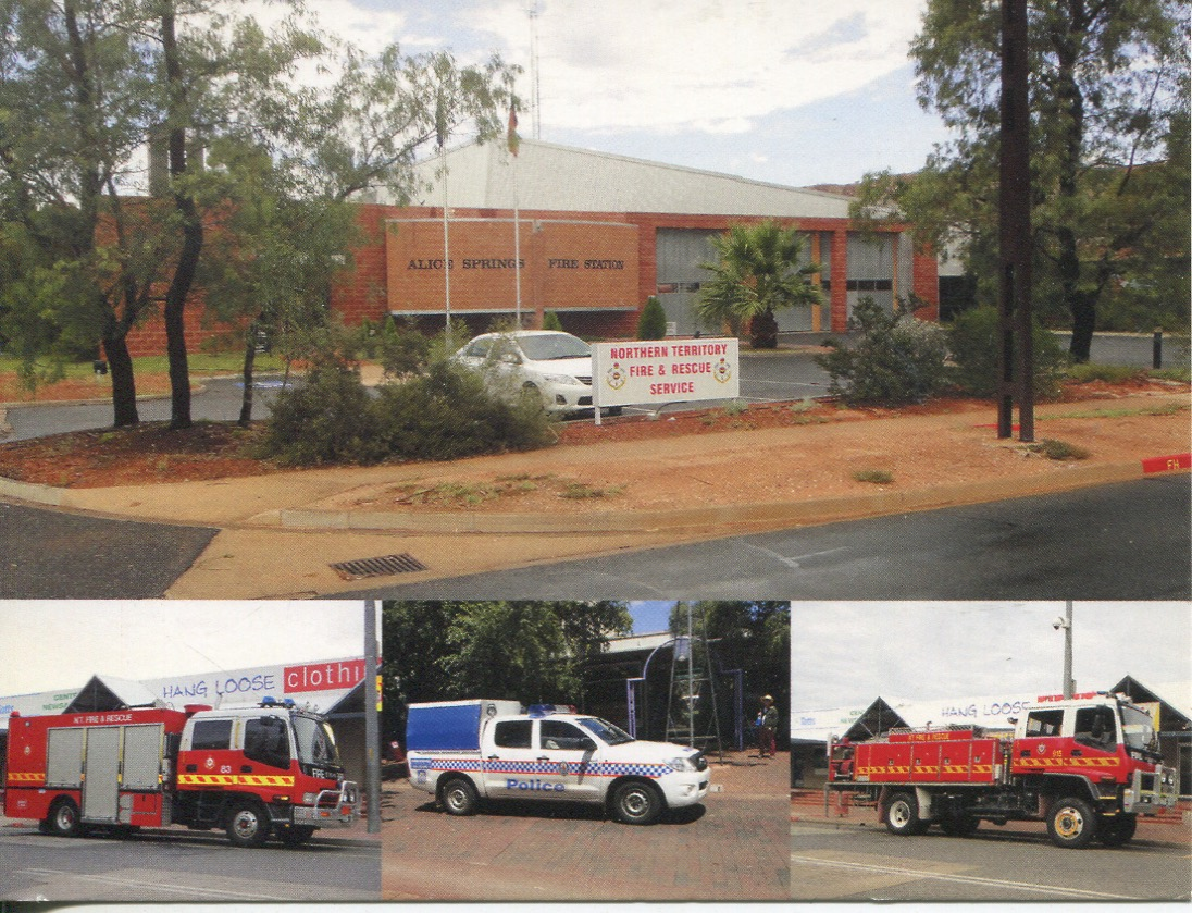 NT - Alice Springs Fire & Emergency Services