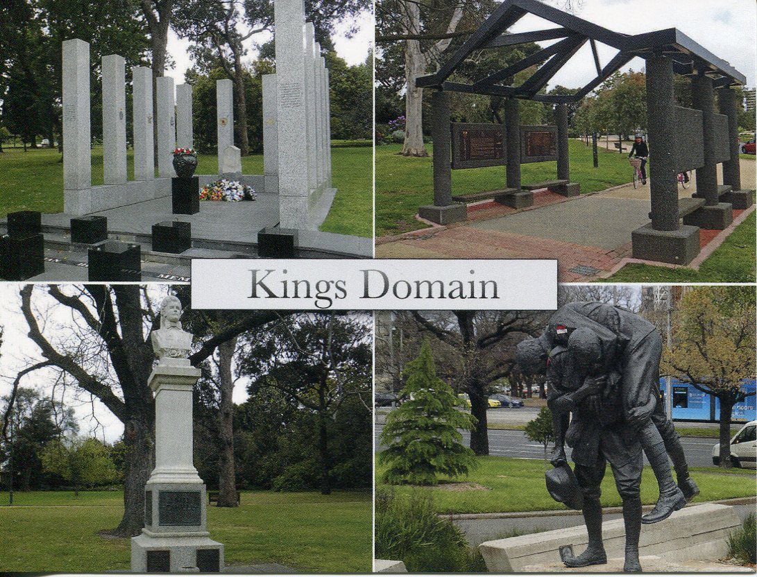 VIC - City of Melbourne - Kings Domain (1)
