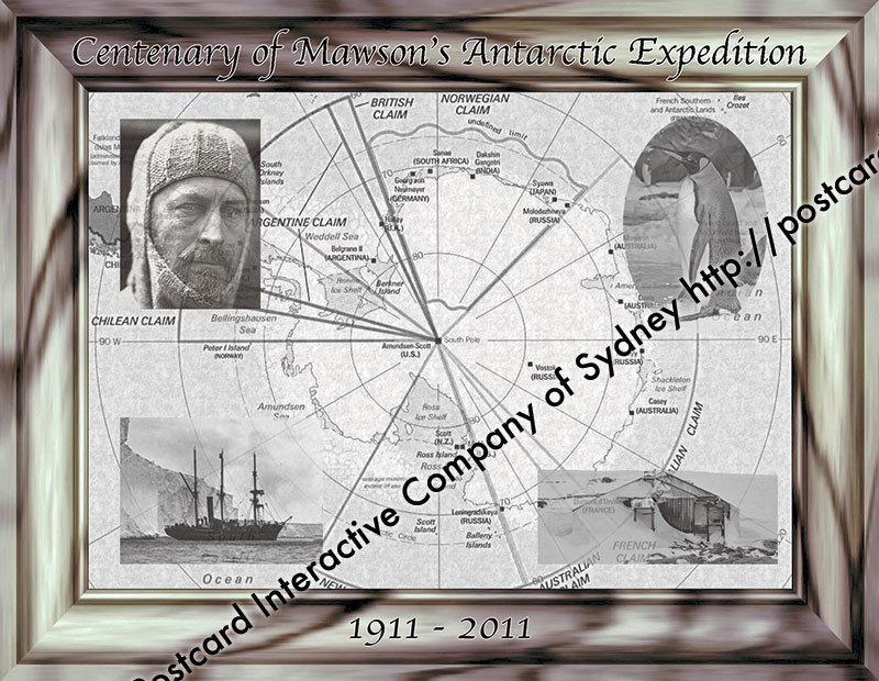 Centenary of Mawson's Antarctic Expedition