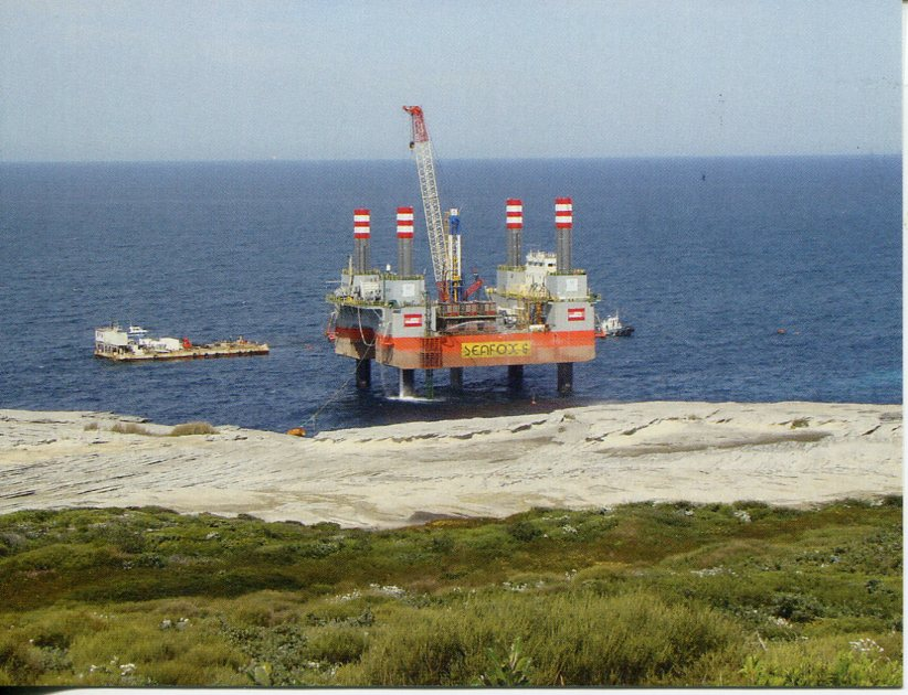 Mobile Offshore Production Platform SEAFOX 6