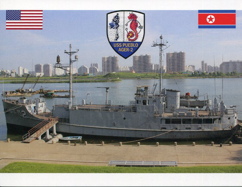 50th anniversary of the Capture of USS Pueblo by North Korea