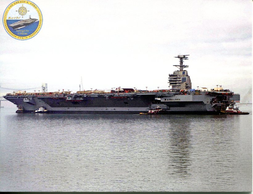United States Navy - USS Gerald R. Ford CVN 78