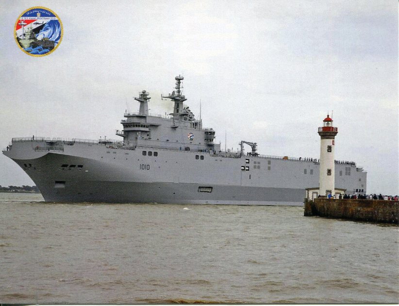 Egyptian Navy Ship - ENS Gamal Abdel Nasser L1010