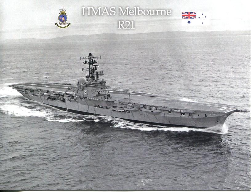 HMAS Melbourne R21 - 60th Anniversary of commissioning