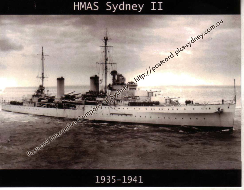 HMAS Sydney II (Light Cruiser) (3rd card)