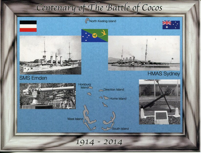 Centenary of the Battle of Cocos Island - Sydney vs Emden