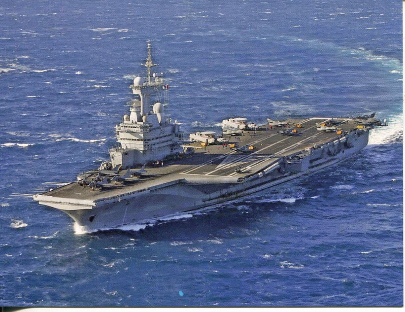 France - Navy Aircraft Carrier FS Charles de Gaulle, R91