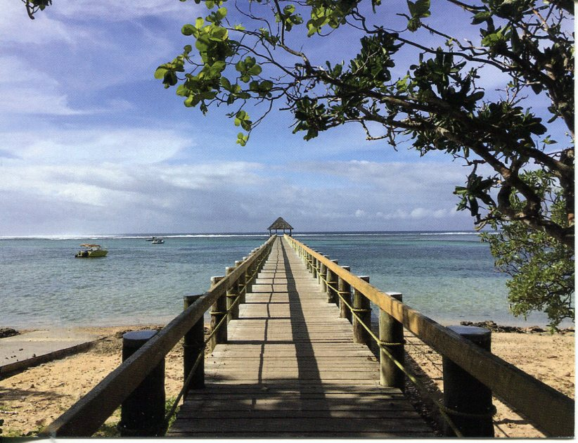 Fiji - Maui Bay Jetty