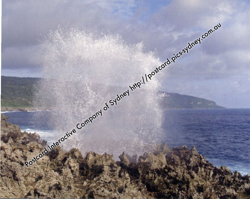 Christmas Island - Blow Holes