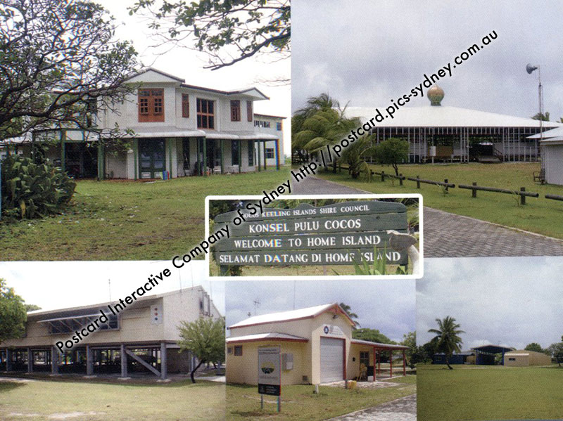 Cocos (Keeling) Islands - Home Island Buildings