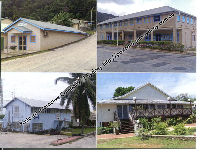 Christmas Island - Administration Buildings