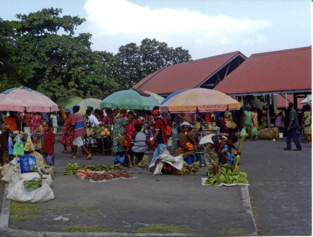 Papua New Guinea - East New Britain - Rabaul Market
