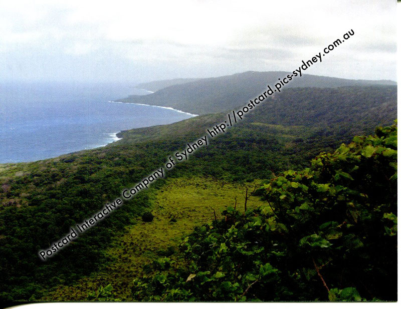 Christmas Island - Margaret Knoll Lookout