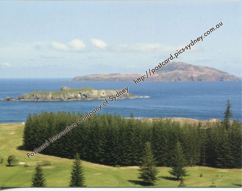 Norfolk Island - Nepean and Phillip Islands (+Golf Course)
