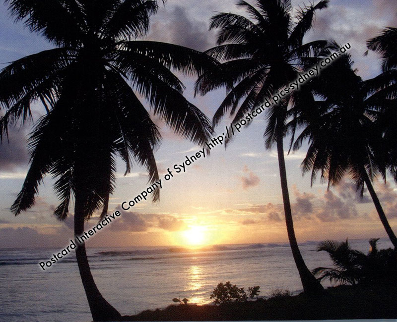 Cocos (Keeling) Islands - Sunset