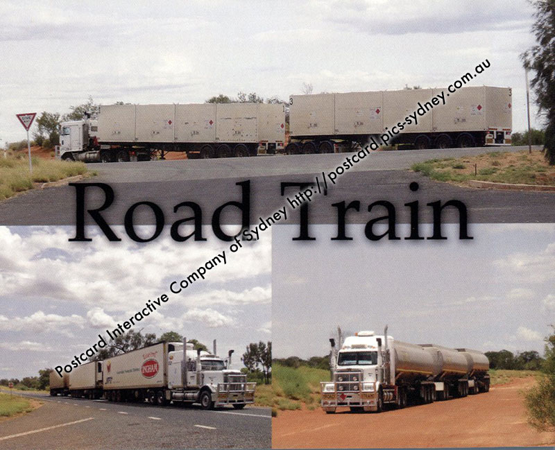 Australian Road Train (large trucks)