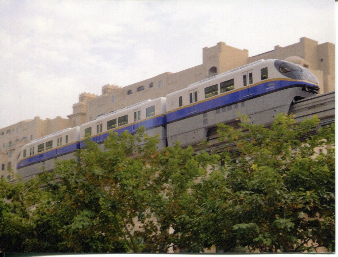Palm Jumeirah Monorail, Dubai, UAE