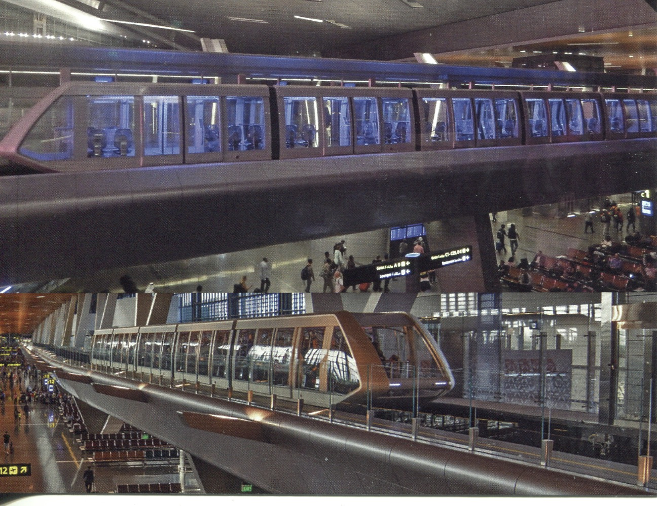 Hamad International Airport Monorail (Doha, Qatar)