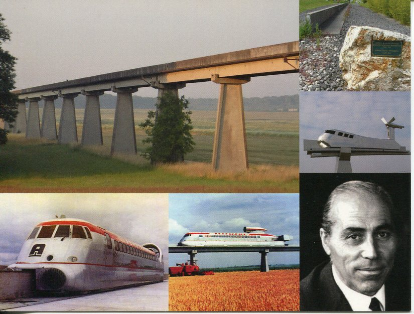Aérotrain (French experimental type of monorail)