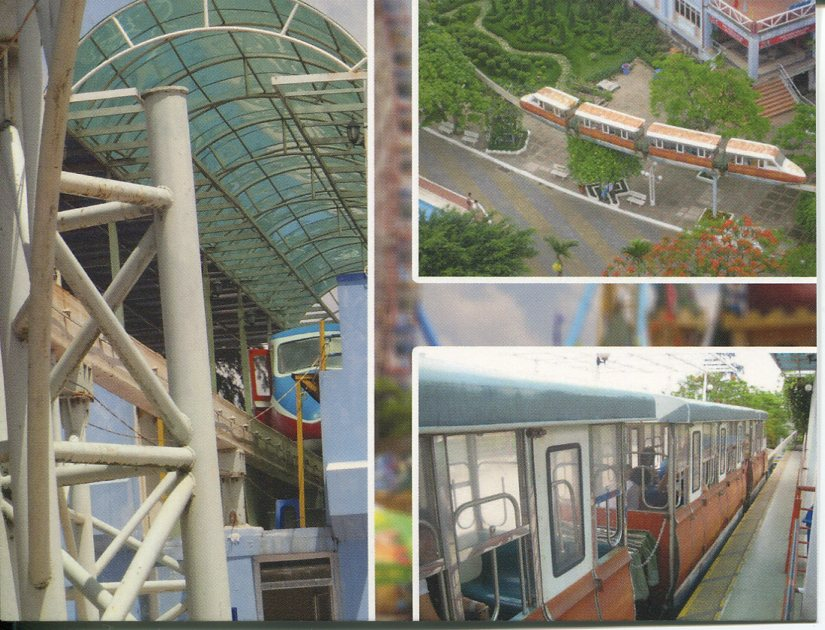Ha Tai (Westlake) Waterpark Monorail - Vietnam