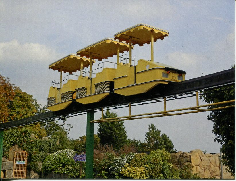 Chessington World of Adventure Monorail (UK - London)