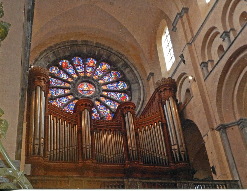 Tournai Cathedral (UNESCO) Great Musical Organ