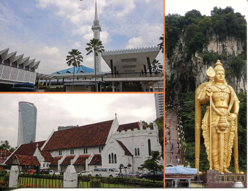 Malaysia - National Mosque - Cathedral - Batu Caves