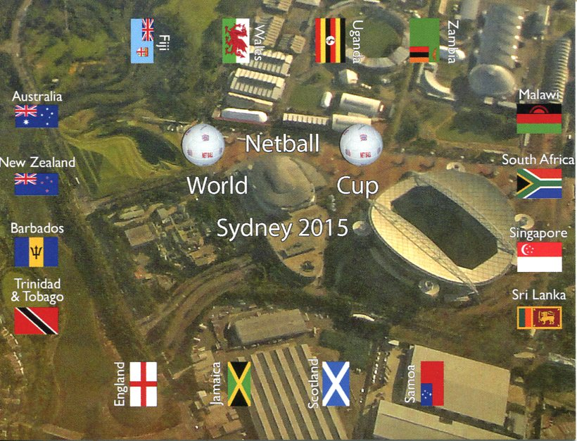 Netball World Cup 2015 - Sydney Olympic Park Stadium