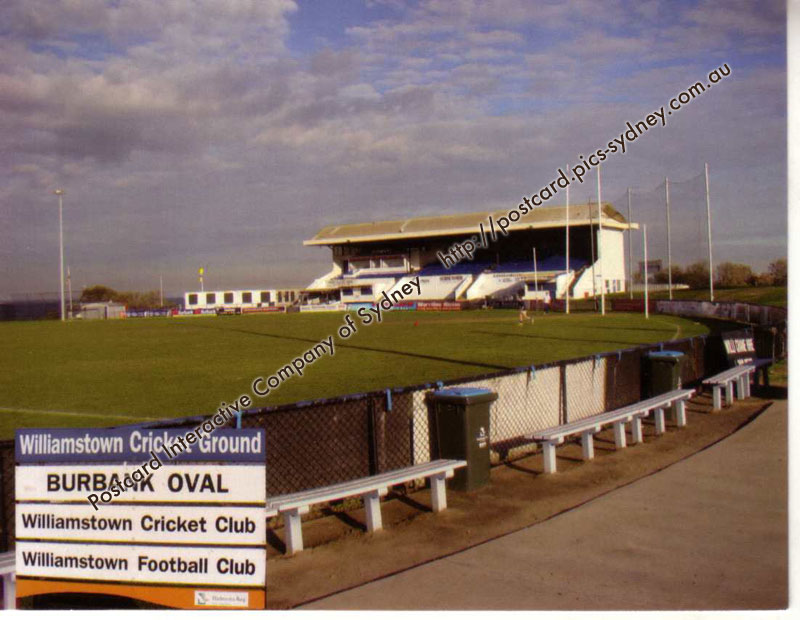 VIC - Burbank Stadium (Williamstown)