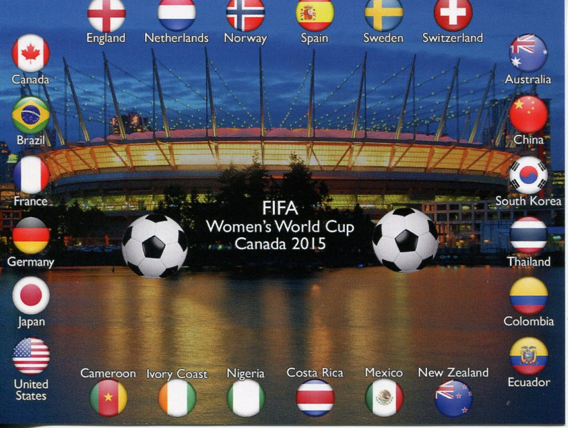 FIFA Women's World Cup 2015 - Canada