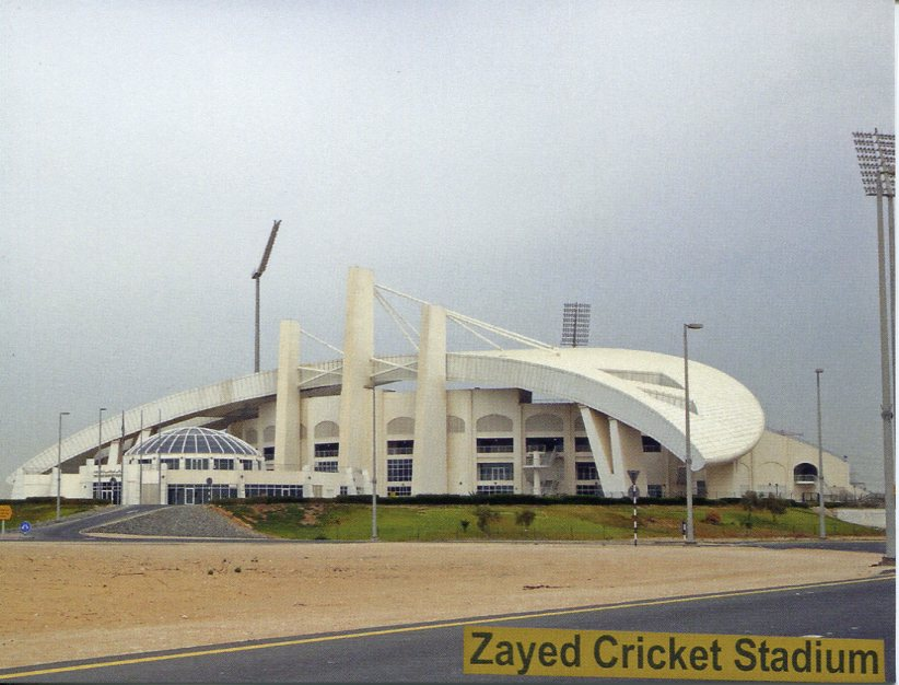United Arab Emirates - Zayed Cricket Stadium (Abu Dhabi)
