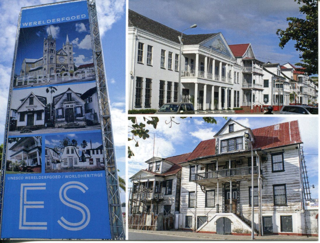 Surinam UNESCO - Historic Inner City of Paramaribo