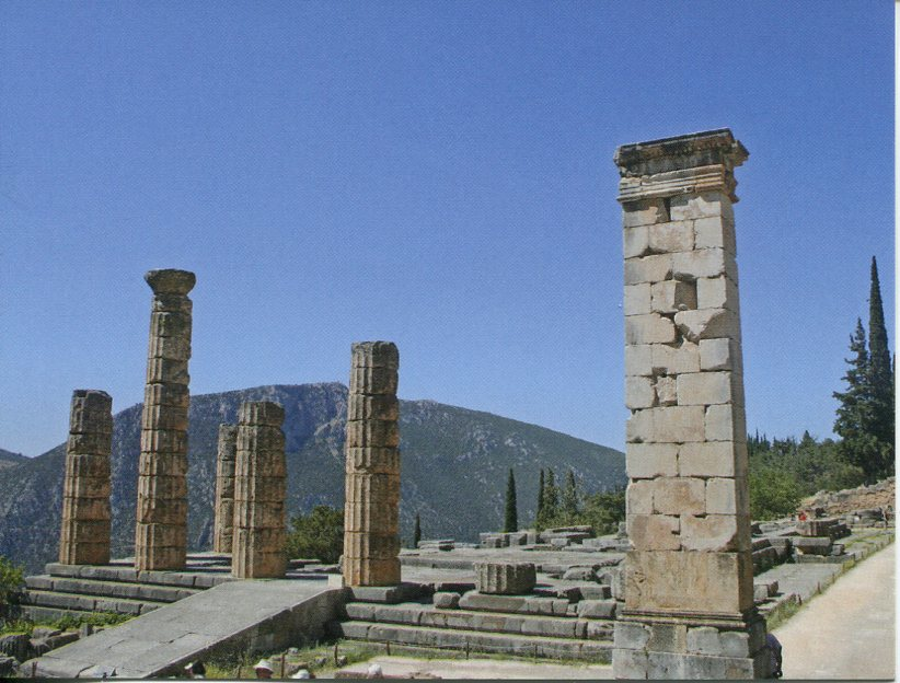 Greece UNESCO - Archaeological Site of Dephi