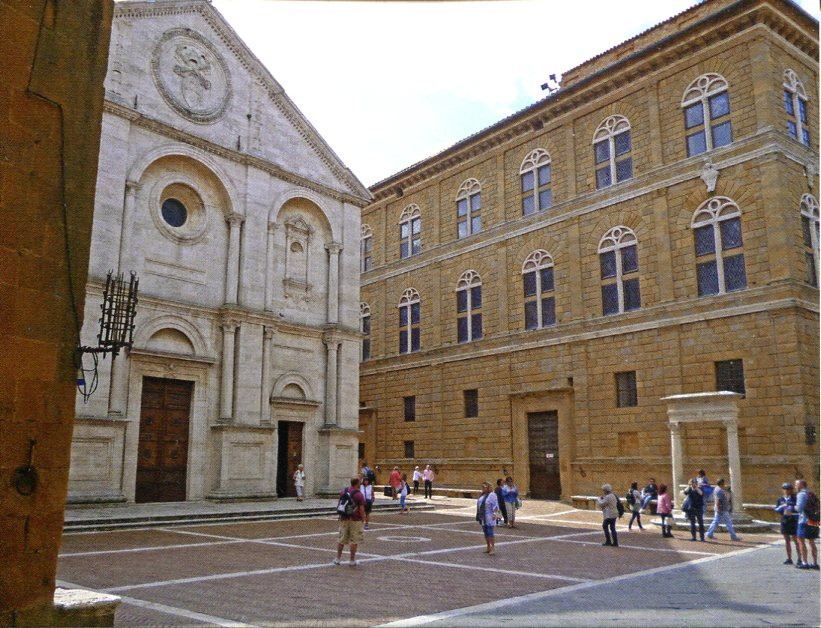 Italy UNESCO - Historic Centre of the City of Pienza