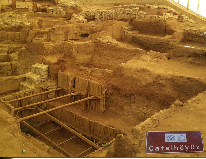 Turkey UNESCO - Neolithic Site of Çatalhöyük