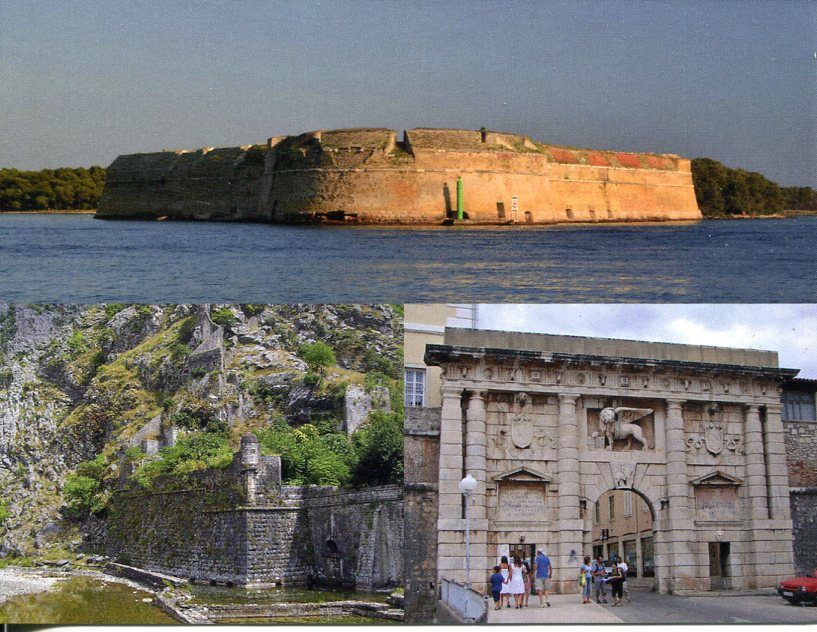 Croatia - Italy - Montenegro UNESCO - Venetian Works of Defence