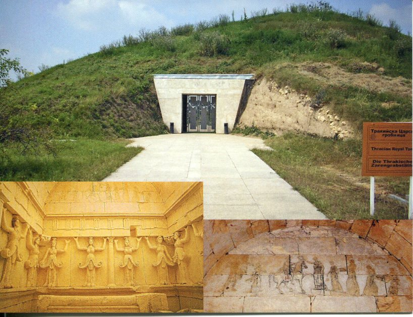 Bulgaria UNESCO - Thracian Tomb of Sveshtari