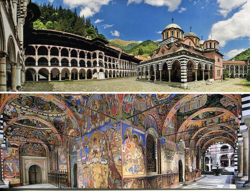 Bulgaria UNESCO - Rila Monastery - Click Image to Close