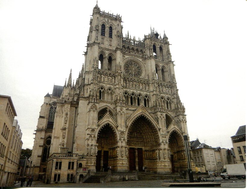 France UNESCO - Amiens Cathedral