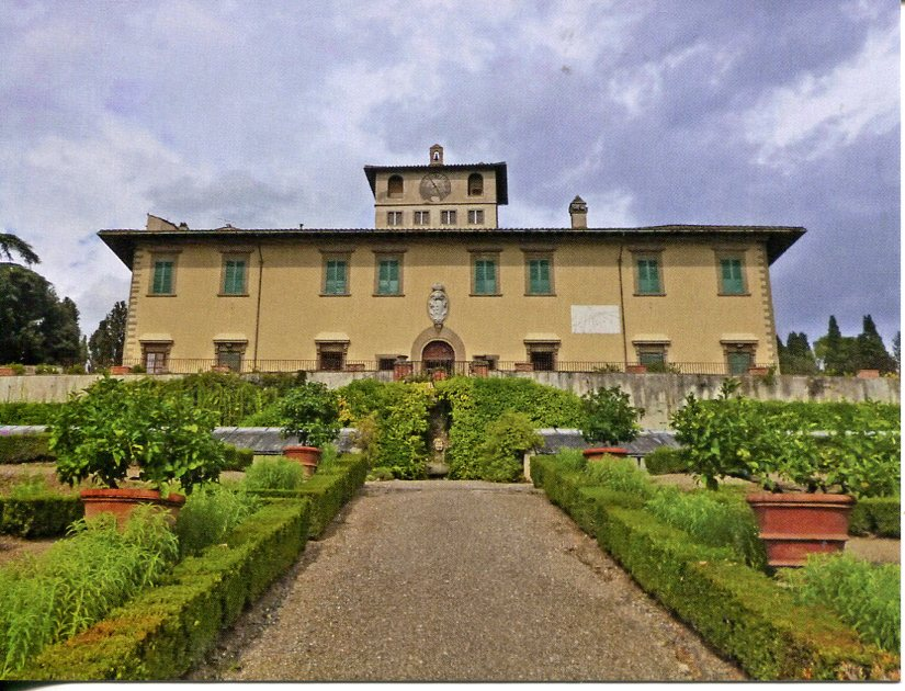 Italy UNESCO - Medici Villas and Gardens in Tuscany